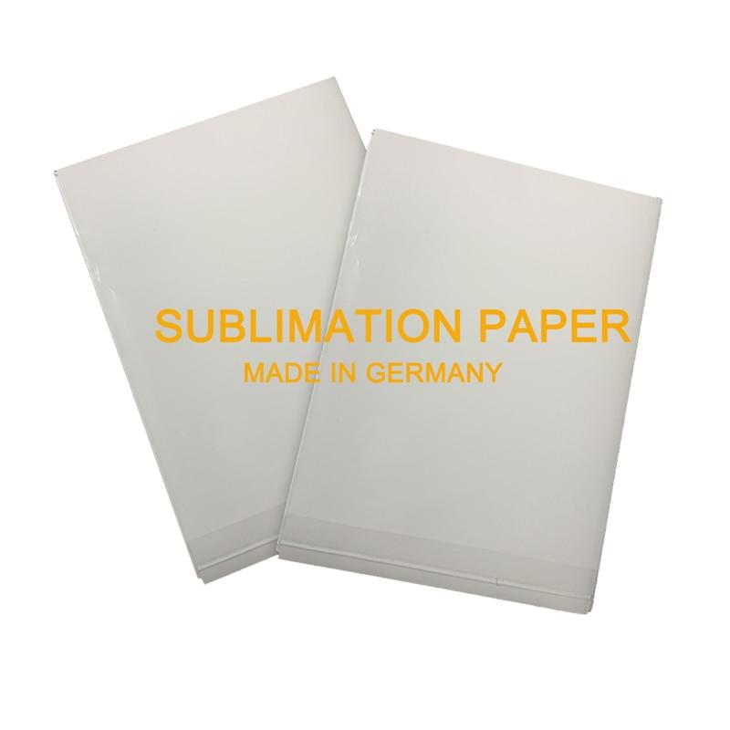100 hojas de papel de sublimación de tinte de alta liberación A3 para impresora Epson