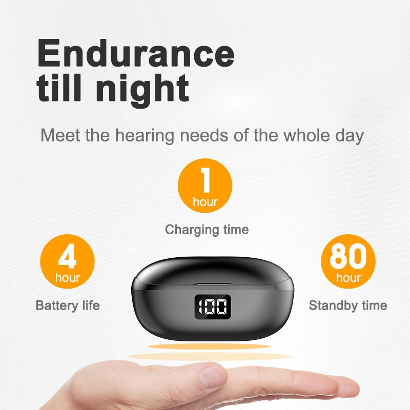 TWS Wireless Bluetooth Headphones with LED Display Mini Sports IPX 6 Waterproof Earphones Gaming Headset for Smart Phone Android enlarge