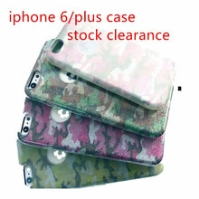 Camouflage double Soft/hard Phone Case anti-fall mobile phone Protective cover For iphone 6/PLUS pho