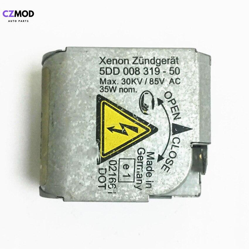 CZMOD Оригинал 5DD 008 319-50 D2S/R фара серебро HID ксеноновый балласт воспламенитель 5DD00831950 головка высокого давления используется автомобильный аксессуар