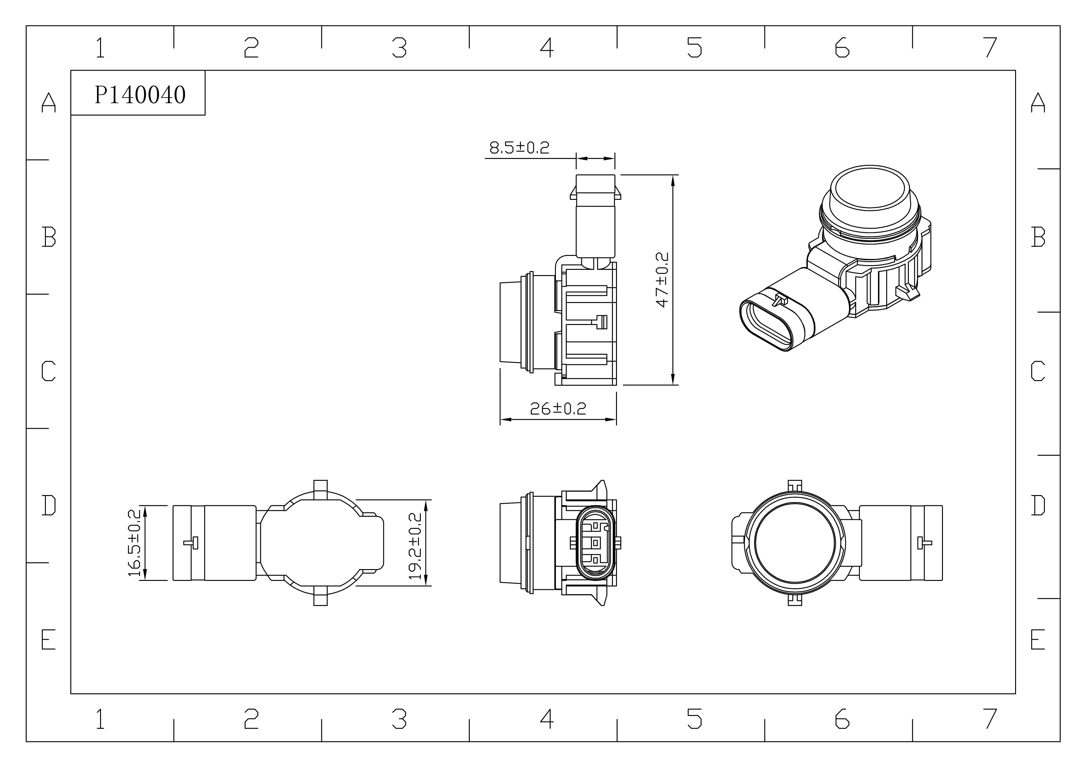 Parking Sensor for Mercedes Benz 2011-2013 B-Class W246 W242 2012-2015 SL W231 2012-2015 A-CLASS W176 A0009050242