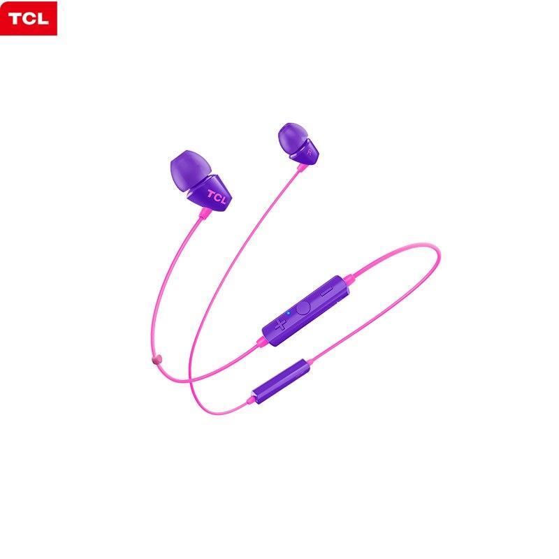 TCL-auriculares inalámbricos por Bluetooth SOCL100BT, cascos deportivos con banda para el cuello,...