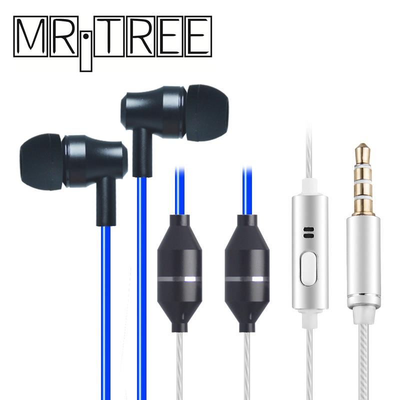 Лучшие металлические антирадиационные наушники с микрофоном, стерео Музыкальная гарнитура, Воздушная трубка в ухо, шумоподавление, линейн...