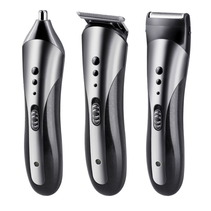 KEMEI Professional Men's Multi-function Rechargeable Electric Hair Clipper Professional Electric Shaver Beard Shaver KM-1407 enlarge