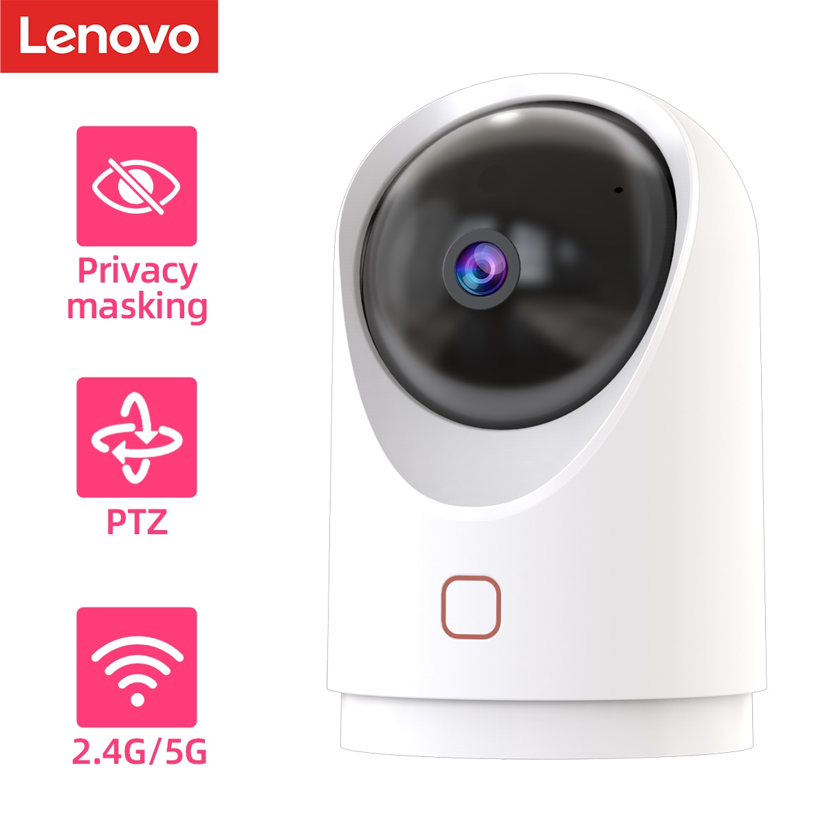 xiaomi hualai xiaofang ip camera camcorder 1080p two way dual lens panoramic view wifi smart home vr view mode for mi home app Lenovo 1080P Smart Dual-band IP Camera Surveillance Camera 2.4G/5G Wifi CCTV Camera Baby Monitor Two Way Speak For Home Security