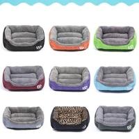 large pet sofa dog beds warm cozy dog house soft fleece nest dog baskets house mat autumn winter waterproof kennel cama perro