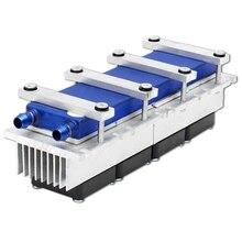 Top vente 288W thermoélectrique Peltier réfrigération refroidisseur DC12V semi-conducteur climatiseur système de refroidissement Kit de bricolage