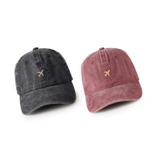 2021 four seasons Cotton plane embroidery Casquette Baseball Cap Adjustable Snapback Hats for men and women 08