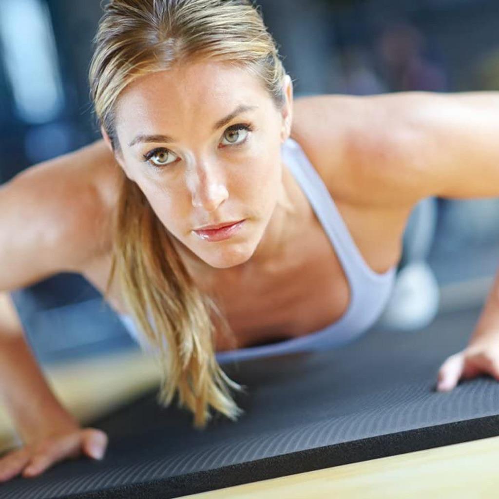183X61CM 15MM Extra épais Nbr tapis de Yoga de haute qualité exercice Sport tapis pour gymnastique maison Fitness insipide coussinets exercice outils # T3