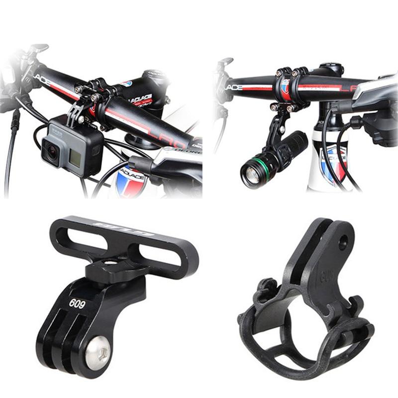 Bicycle Handlebar Stem Mount Light Holder Stem Handlebar Extension Bike Adapter For gorpo hero 7 6 YI Action Camera Accessories