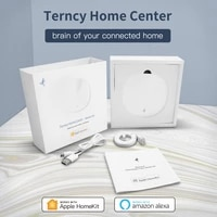Zigbee     Hub 3 0 pour maison connectee  passerelle sans fil compatible avec application Apple Homekit Home  Amazon Alexa  Apple TV  HomePod  commande vocale