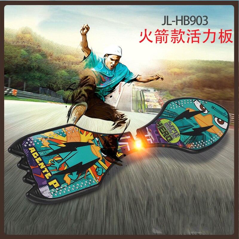 Surf скейт доска скейтборда длинная доска для взрослых уличные чистки Single Rocker скутер фристайл Deskorolka спортивный инвентарь