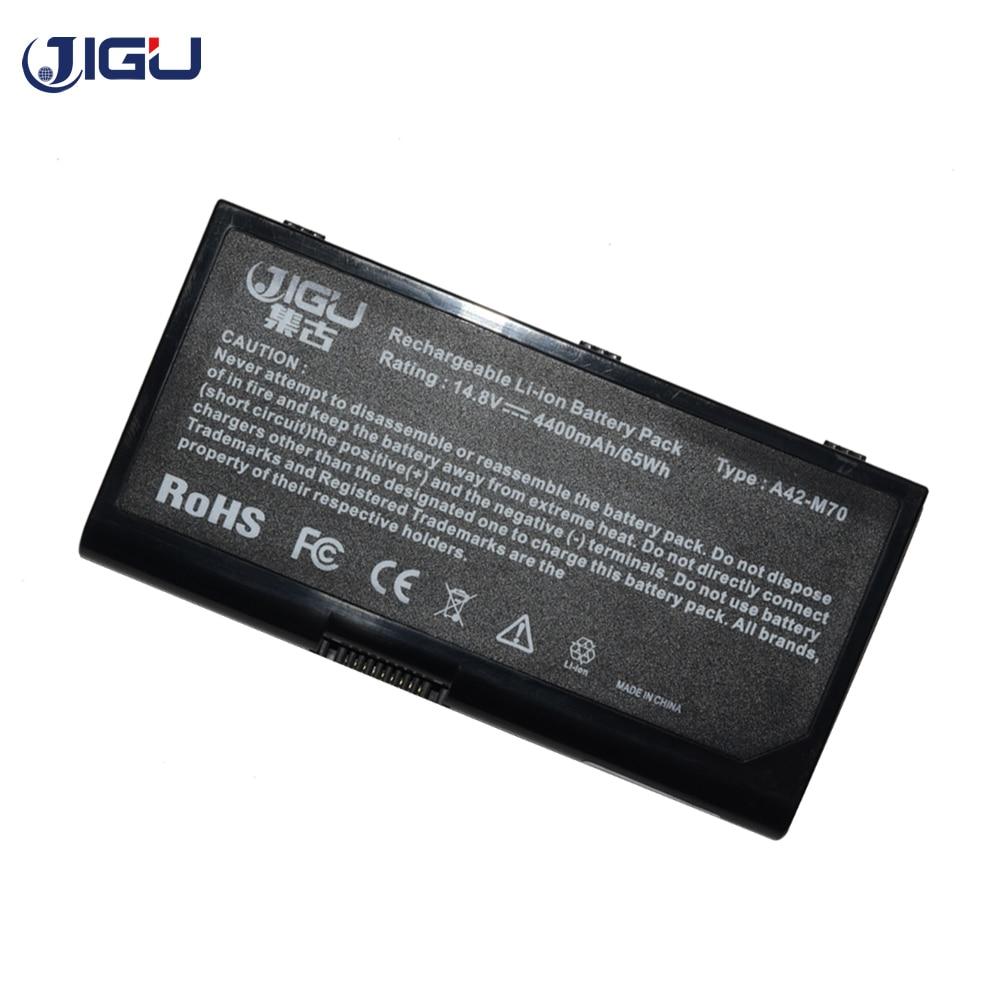 JIGU batería del ordenador portátil para Asus A32-F70 A32-M70 A41-M70 A42-M70 L0690LC L082036 F70 G71 G72 M70 N70 N90 X71 X72 G71V G72V X71S X71T