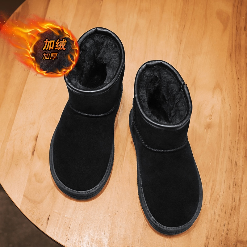 Children Casual Shoes Autumn Winter Martin Boots Boys Shoes Fashion Snow Boots Soft Girls Boots Sport Running Shoes Baby Shoes