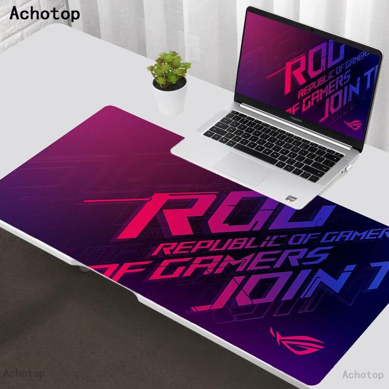 ROG-alfombrilla de goma para teclado de ordenador portátil, alfombrilla de goma con...
