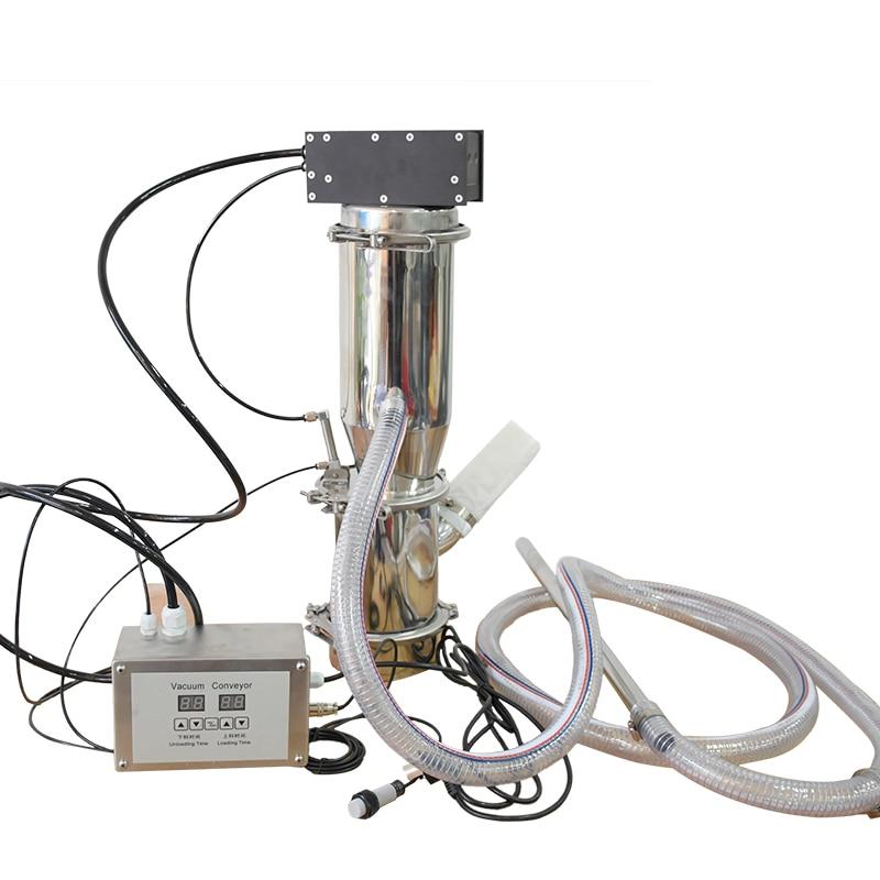ناقل فراغ هوائي QVC-1 نقل مسحوق إلى آلات أخرى