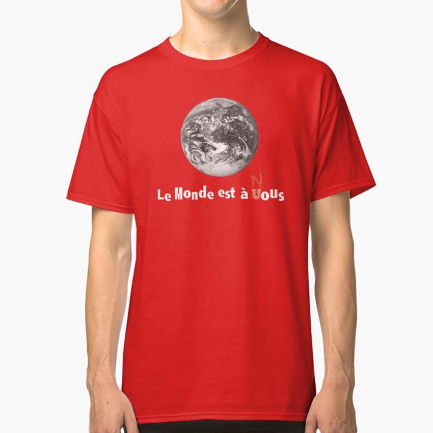 Le Monde Est A Nous ( La Haine ) T Shirt World Yours Ours La Haine Vinz Said Hubert Hip Hop