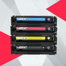 Kompatibel Farbe Toner Patrone Für HP CF500A 202A LaserJet Pro M254 M254dw 254nw MFP M281cdw 281fdn 280 280nw