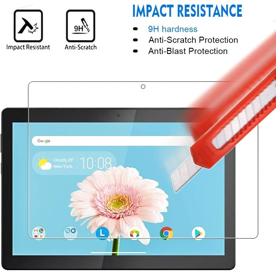 For Lenovo TAB M10 TB-X605F/TB-X505 10.1 inch -9H Premium Tablet Clear Tempered Glass Screen Protect