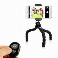 mini flexible sponge octopus tripod flexible universal octopus gorillapod tripod stand for mobile phone camera gopro 9 8 7