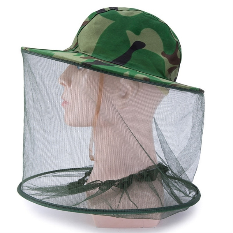outdoor survival anti mosquito bug bee insect mesh hat head face protect net cover travel camping protector camping equipment Outdoor Survival Anti Mosquito Bug Bee Insect Mesh Hat Head Face Protect Net Cover Travel Camping Protector Camping Equipment