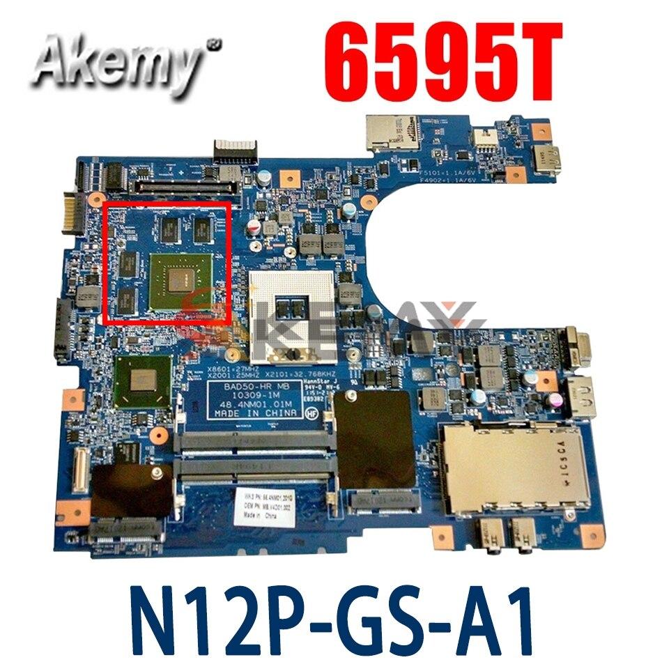 Akemy اللوحة المحمول لشركة أيسر 8573 8573T 6595T اللوحة MBV4C01002 BAD50-HR MB 10309-1M 48.4NM01.01M N12P-GS-A1 1G QM67
