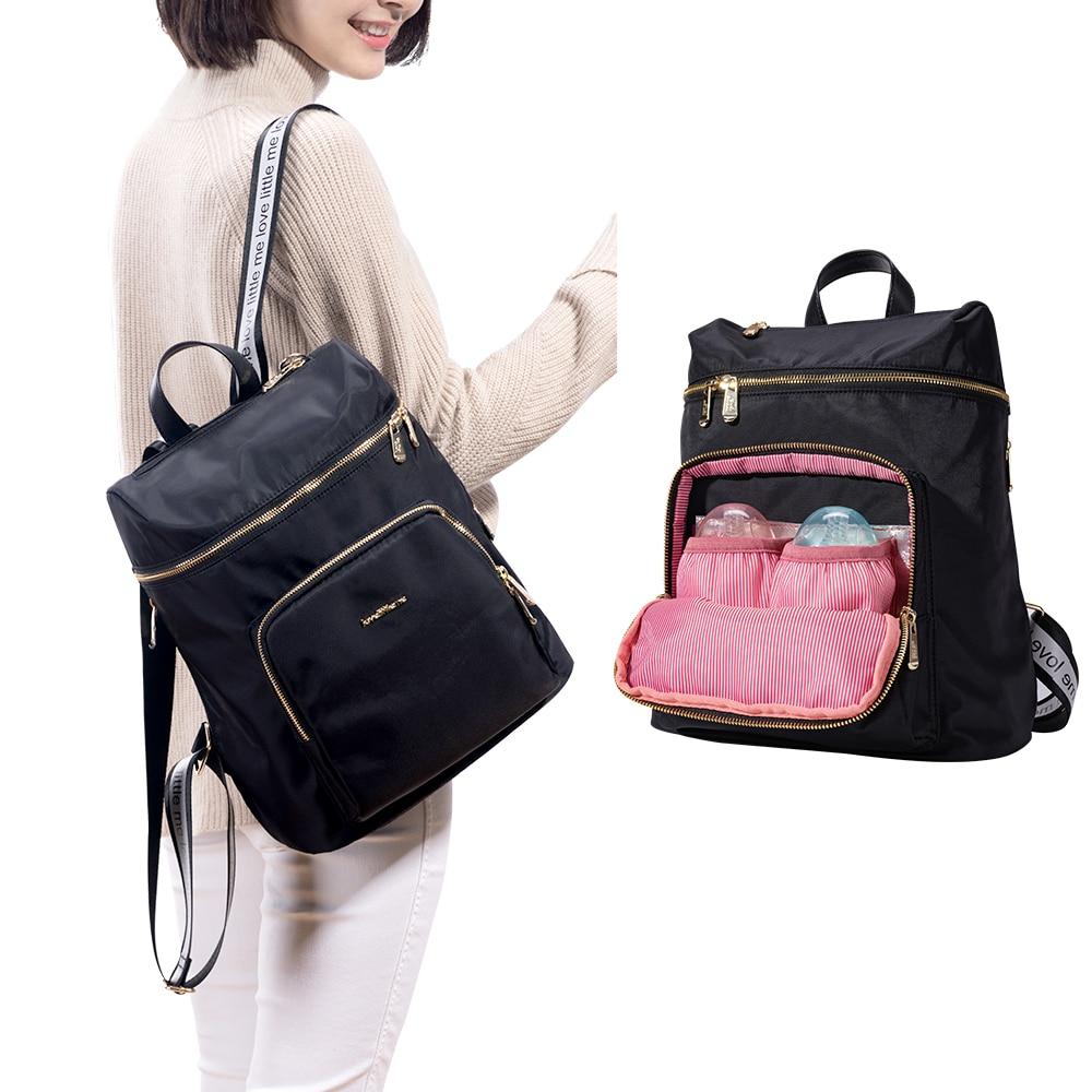Брендовая модная сумка для подгузников; Сумка для ухода за ребёнком Мумия для беременных большой Ёмкость Детская сумка дорожный рюкзак диз...