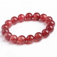 natural pink crystal bracelet sweet and lovely ladies pink gemstone jewelry best gift for girlfriend