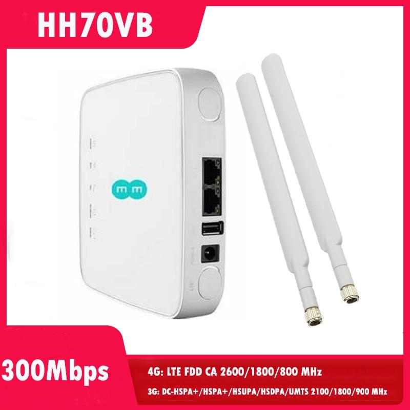 HH70vb 4G LTE نقطة وصول لاسلكية موزع إنترنت واي فاي النقاط الساخنة CAT7 في الهواء الطلق LAN WAN SMA هوائي سيم فتحة للبطاقات فتح مودم Cpe النطاق العريض