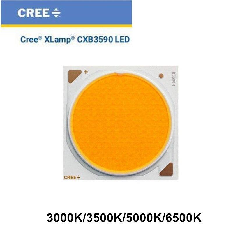 Diy cree cob cxb3590 led crescer luzes suporte ideal 50-2303cr pino fin dissipador de calor meanwell motorista 100mm lente de vidro/refletor