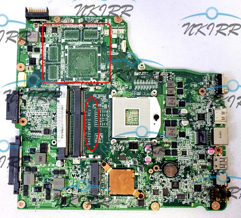 DA0ZQ1MB8D0 DA0ZQ1MB8F0 MBPSN06001 MBPVK06001 اللوحة لشركة أيسر أسباير TimelineX 4820 4820T 4820TG