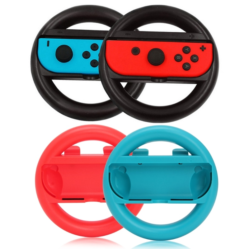 2Pcs Left Right Joy-Con Controller Grips cover Case For Nintendo Switch NS Game Handle case tation Steering Wheel accessories