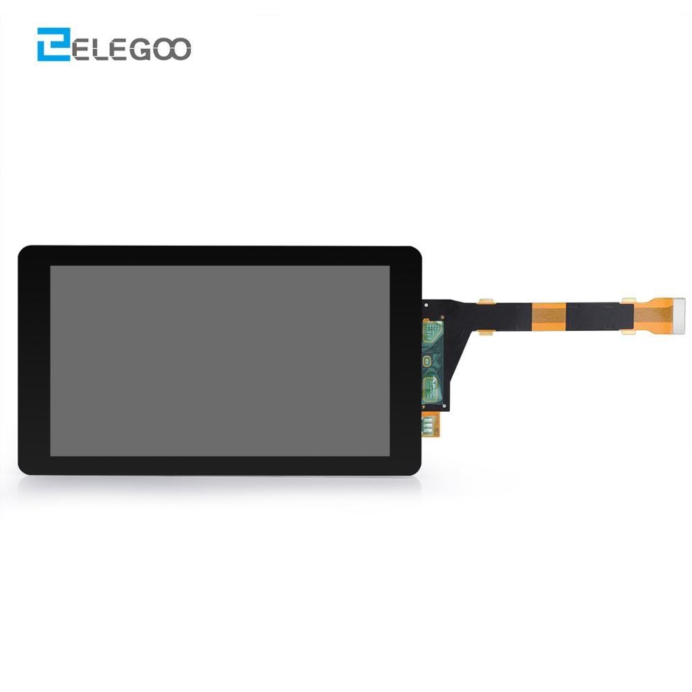 ELEGOO المريخ شاشة LCD LS055R1Sx04 5.5 ''2K شاشة LCD للمريخ طابعة LCD ثلاثية الأبعاد مع 2560X1440 دقة ثلاثية الأبعاد أجزاء الطابعة الشاشة