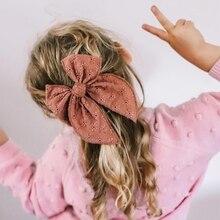 2Pcs Hair Pins For Baby Girls Hair Clips Bows Barrette Princess Clip Children Kinder Haar Accessoires Jacquard Hairpin Hairgrip