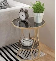 boreal europe iron art marble edge ark of a few sofa edge small tea table a few bedroom the head of a bed small round table cont