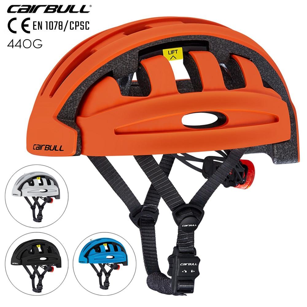 CE EN 1078 Urban Commuter Bike Helmet Folding City Adult Bicycle Cycling Helmet Sports Street Bike Helmet Casual 2021 New Safe