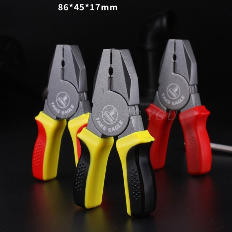 Cartoon cigarette lighter can be loaded with butane creative portable mini pliers shape jewelry gift random color oil-free enlarge