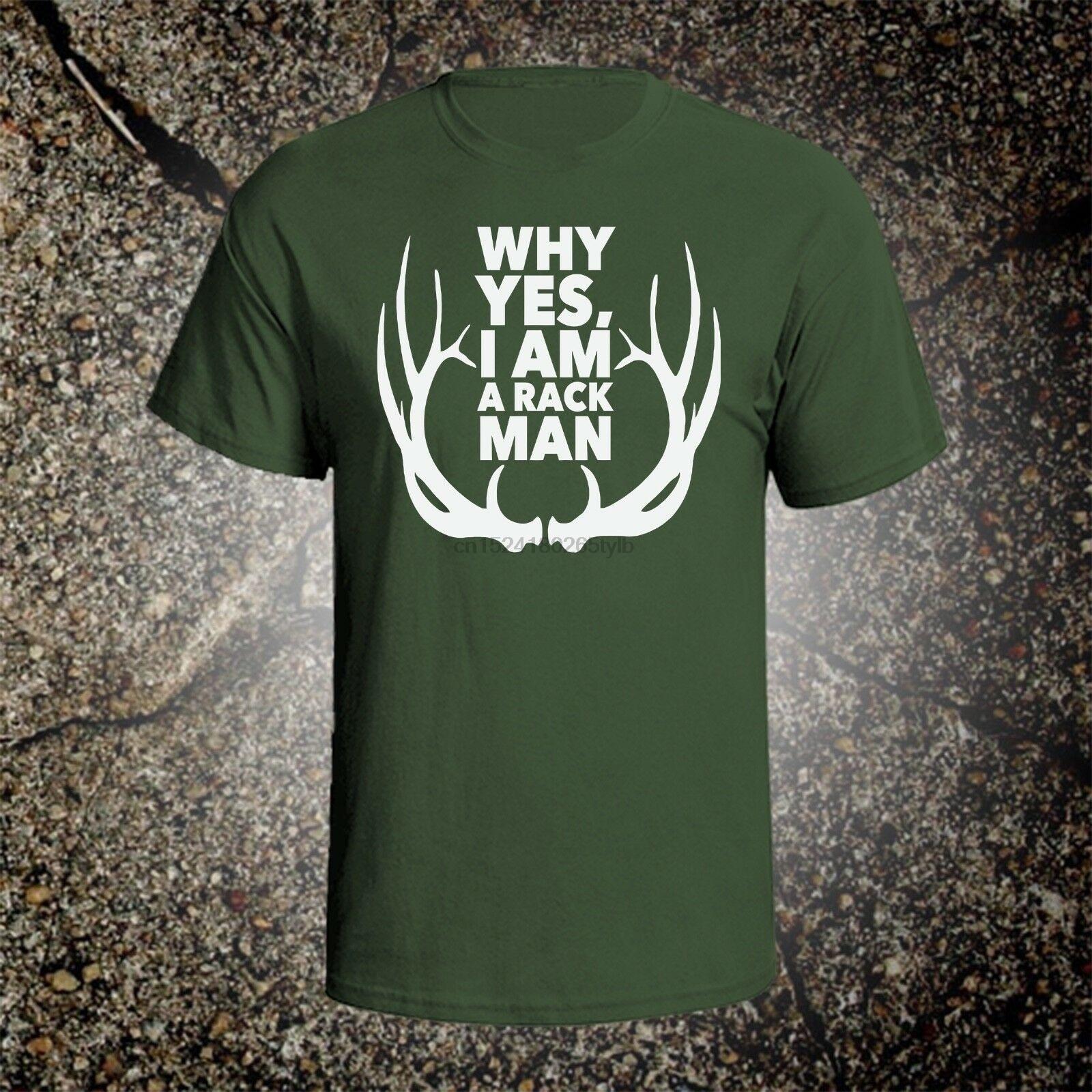 Sí, soy un Rack, hombre, Estilo vintage, camiseta gráfica, mossberg, caza