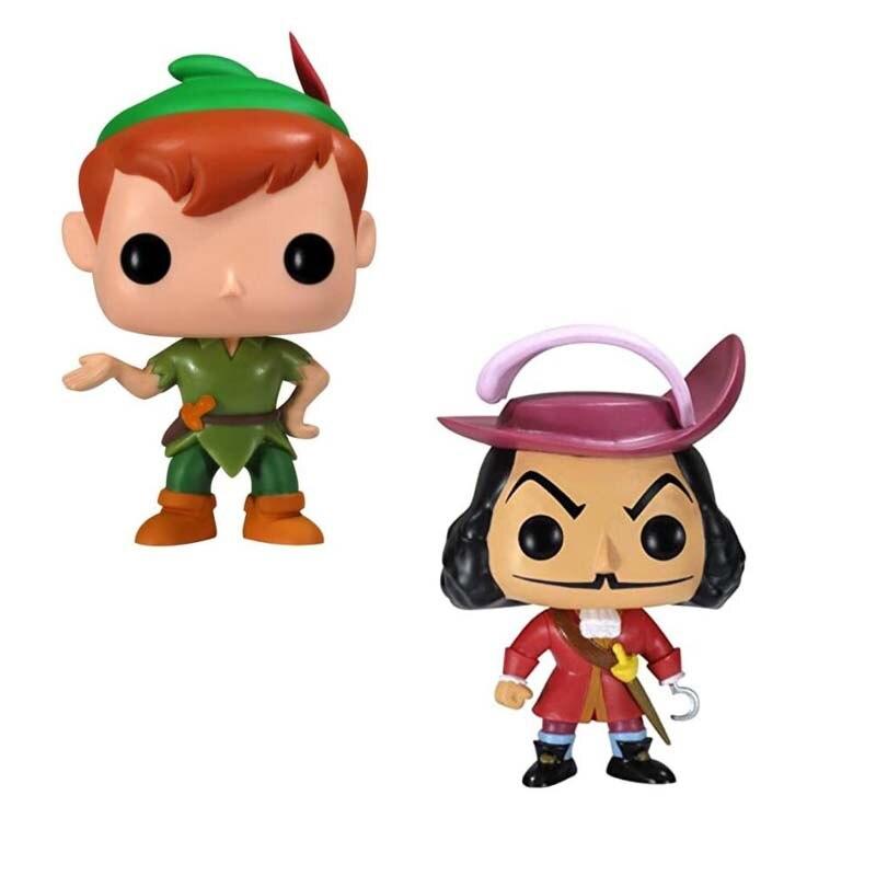 Tinker Bell Peter Pan capitán gancho pirata vinilo muñeca modelo Juguetes