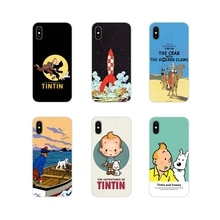 Accessories Phone Shell Covers The Adventures of Tintin For Xiaomi Redmi Note 3 4 5 6 7 8 Pro Mi Max