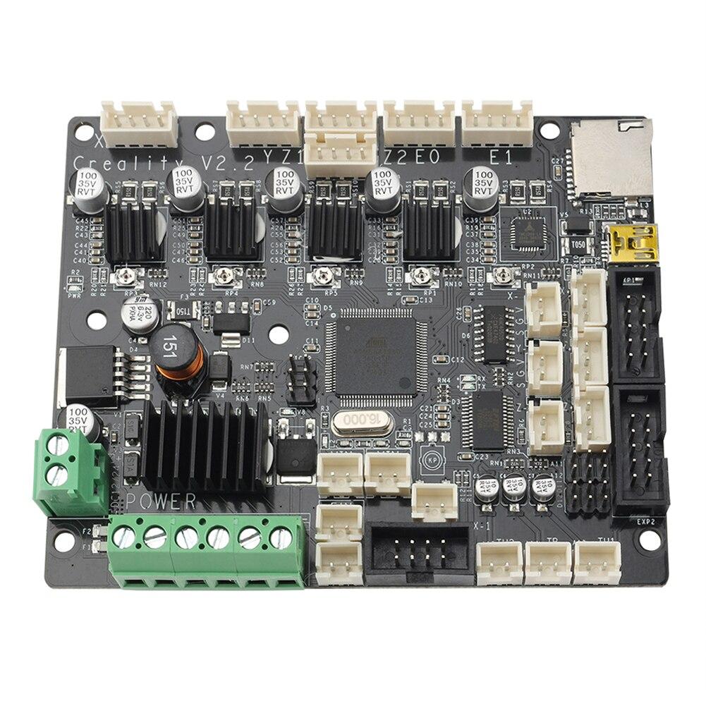 قطع غيار ثلاثية الأبعاد طابعة لوحة رئيسية صامتة مطورة لوحة صامتة TMC2208 ملحقات طابعة ثلاثية الأبعاد لوحة أم