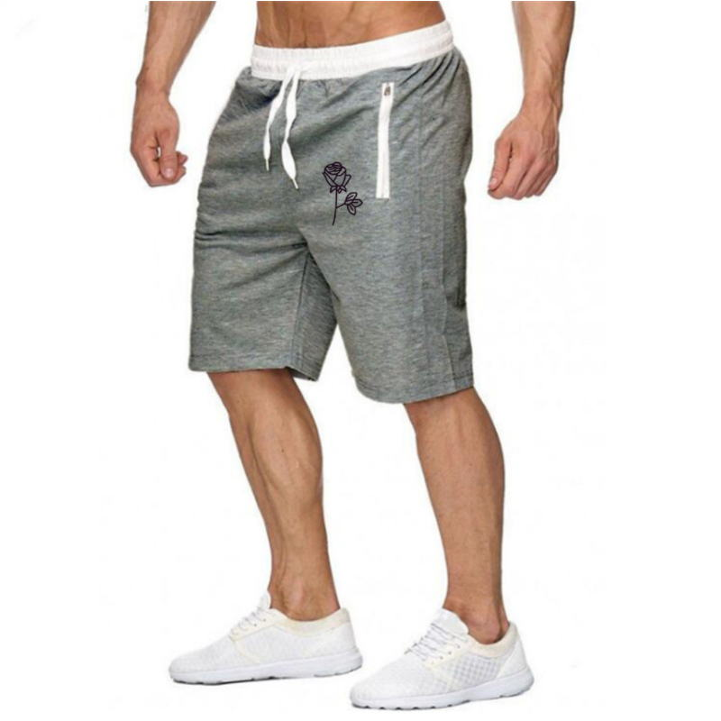 Men 2021 New Shorts Men's loose Short - Trousers Fitness Jogger Mens Brand durable Sweatpants Fitness Workout Shrots