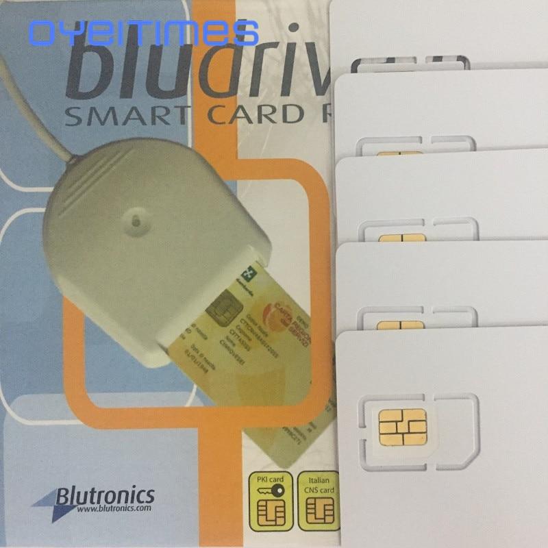 OYEITIMES 4G LTE SIM بطاقة قارئ الكاتب مبرمج مع 5 قطعة LTE اختبار سيم بطاقة 1 قطعة سيم بطاقة البرمجيات XOR Milenage شحن مجاني