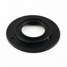 1 Uds. Adaptador de Metal de aluminio para Olympus PM1 C lente de montaje a Micro 4/3 M4/3 para Panasonic GX1 GF5 est
