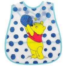 Disney 1pcs Baby Bibs Waterproof Feeding Baby Saliva Towel Newborn Cartoon Mickey Aprons Baby Bibs Adjustable