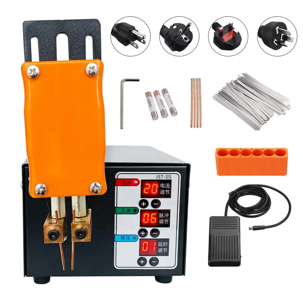 آلة لحام نقطية عالية الطاقة 3KW لبطارية 18650 ، لحام نقطي ، شريط نيكل منزلي صغير ، آلة لحام نبضي دقيقة