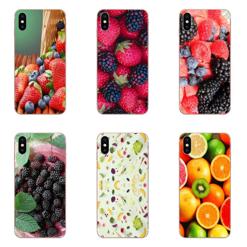 1 Uds fruta deliciosa estilo para Huawei P7 P8 P9 P10 P20 P30 Lite Mini Plus Pro 2017 de 2018, 2019 detallada de la caja del teléfono