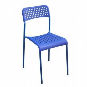 Пластиковый стул для дома, обеденный стул, утолщенный офисный стул для отдыха для взрослых, современный простой компьютерный стул для ленивых