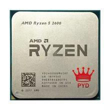 AMD Ryzen 5 2600 R5 2600 3,4 GHz sechs-core Zwölf-Core 65W processeur Prozessor YD2600BBM6IAF Buchse AM4