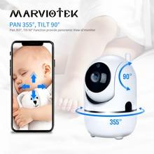 Monitor de bebé inteligente con alarma de llanto para el hogar, Mini cámara de vigilancia con Wifi, vídeo de seguridad, cámara IP para mascotas 720 ycc365, 360 P
